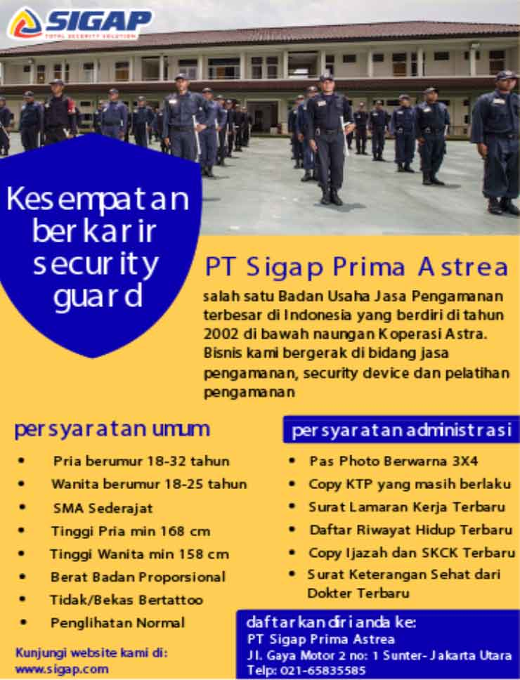 Recruitment SG